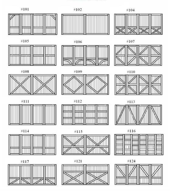 Custom Hand Crafted Wood Garage Doors Plano Texas 972 599 1224